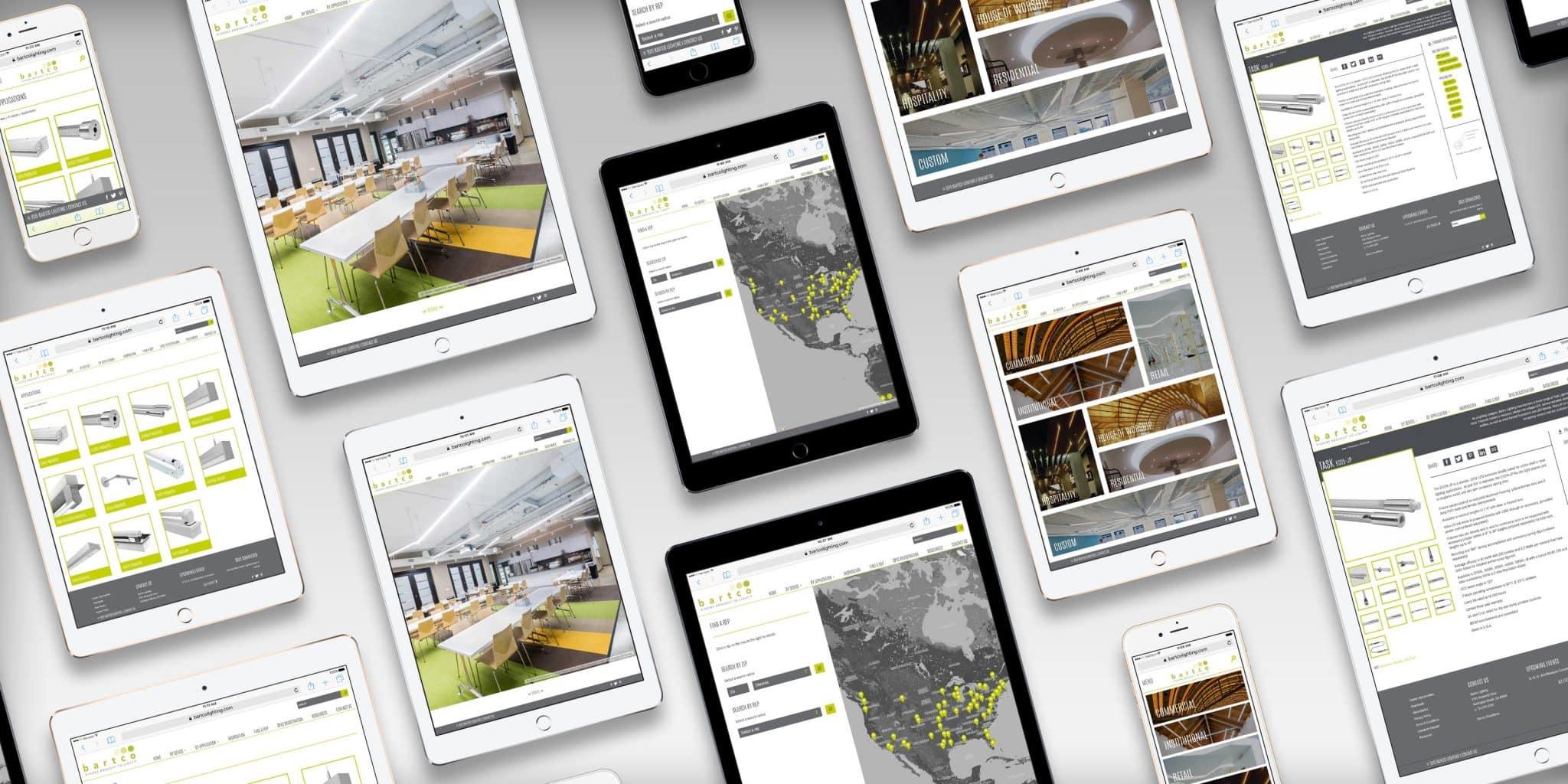 custom commercial responsive web design