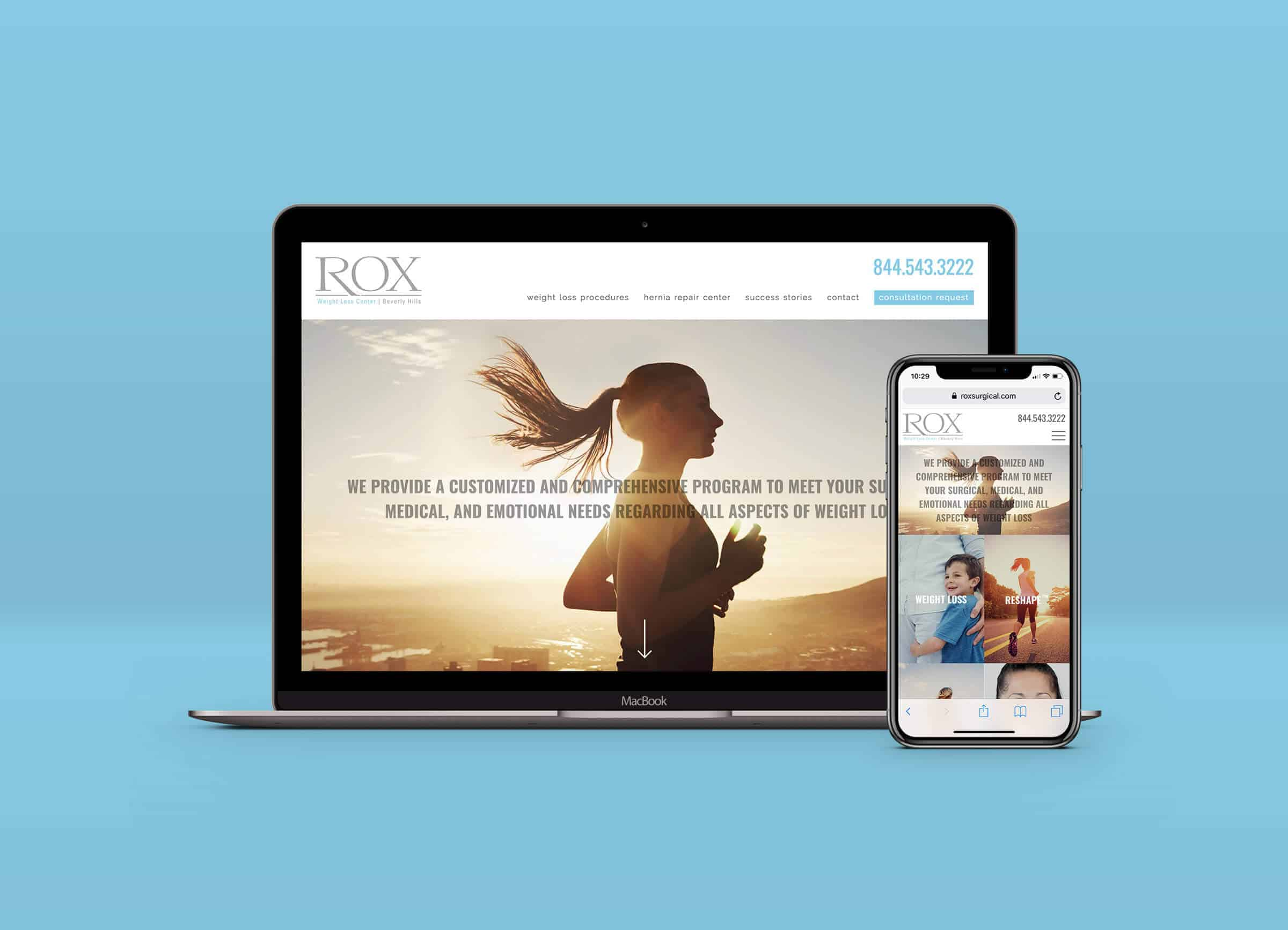 rox surgical center beverly hills homepage