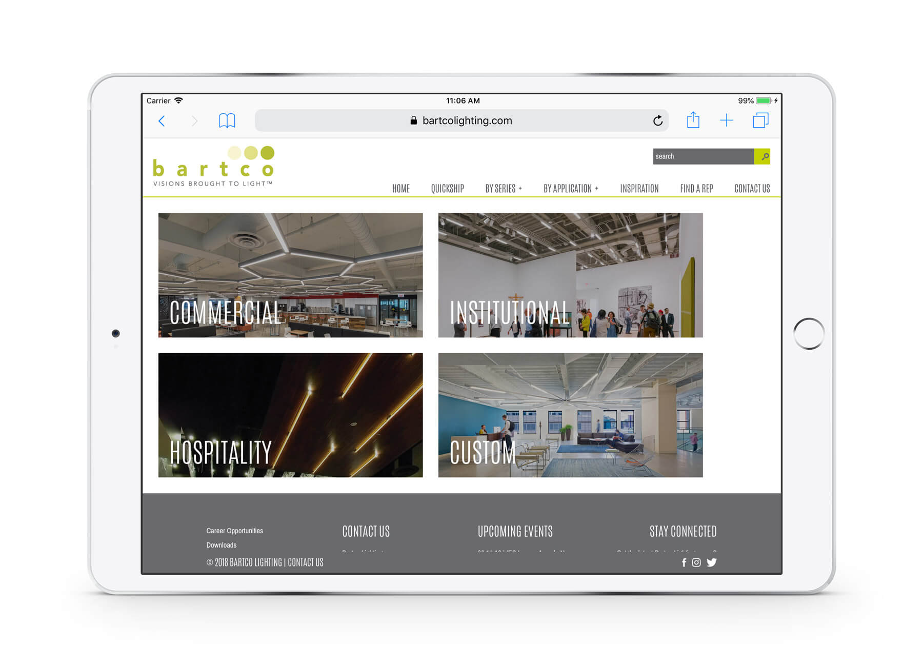 lighting industry website