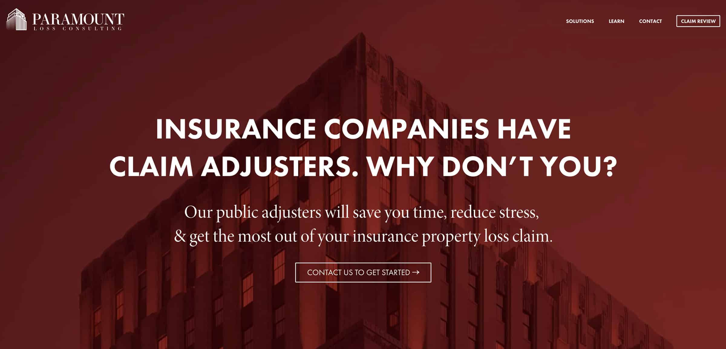 paramount loss consulting public adjuster