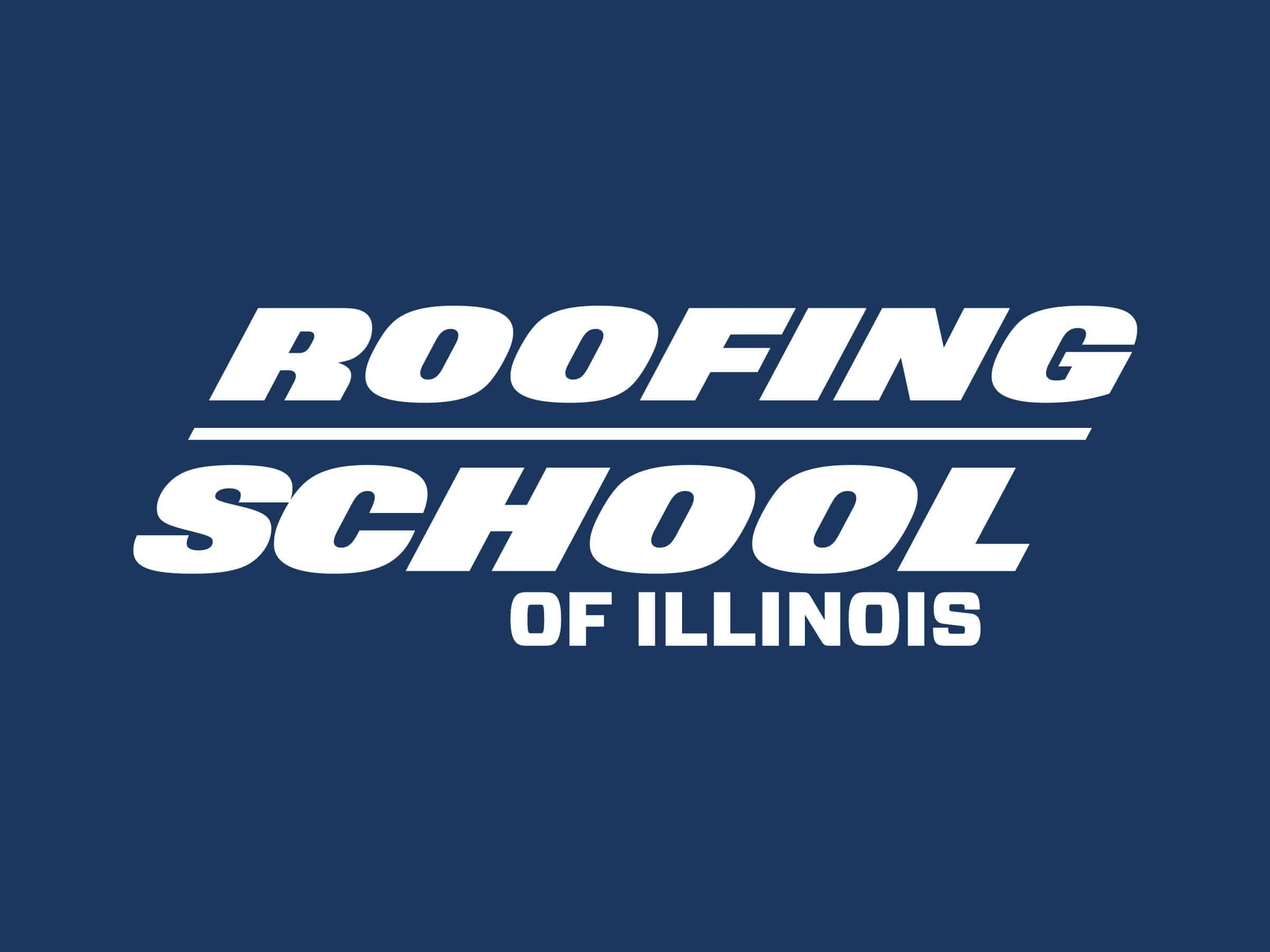 roofing school of illinois logo