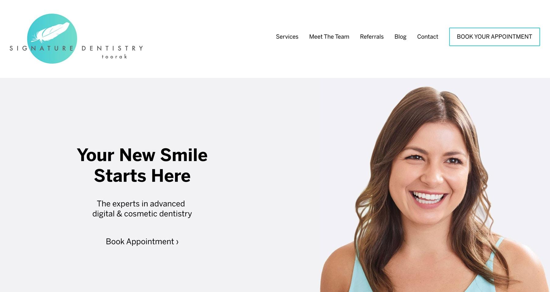 website designing layout