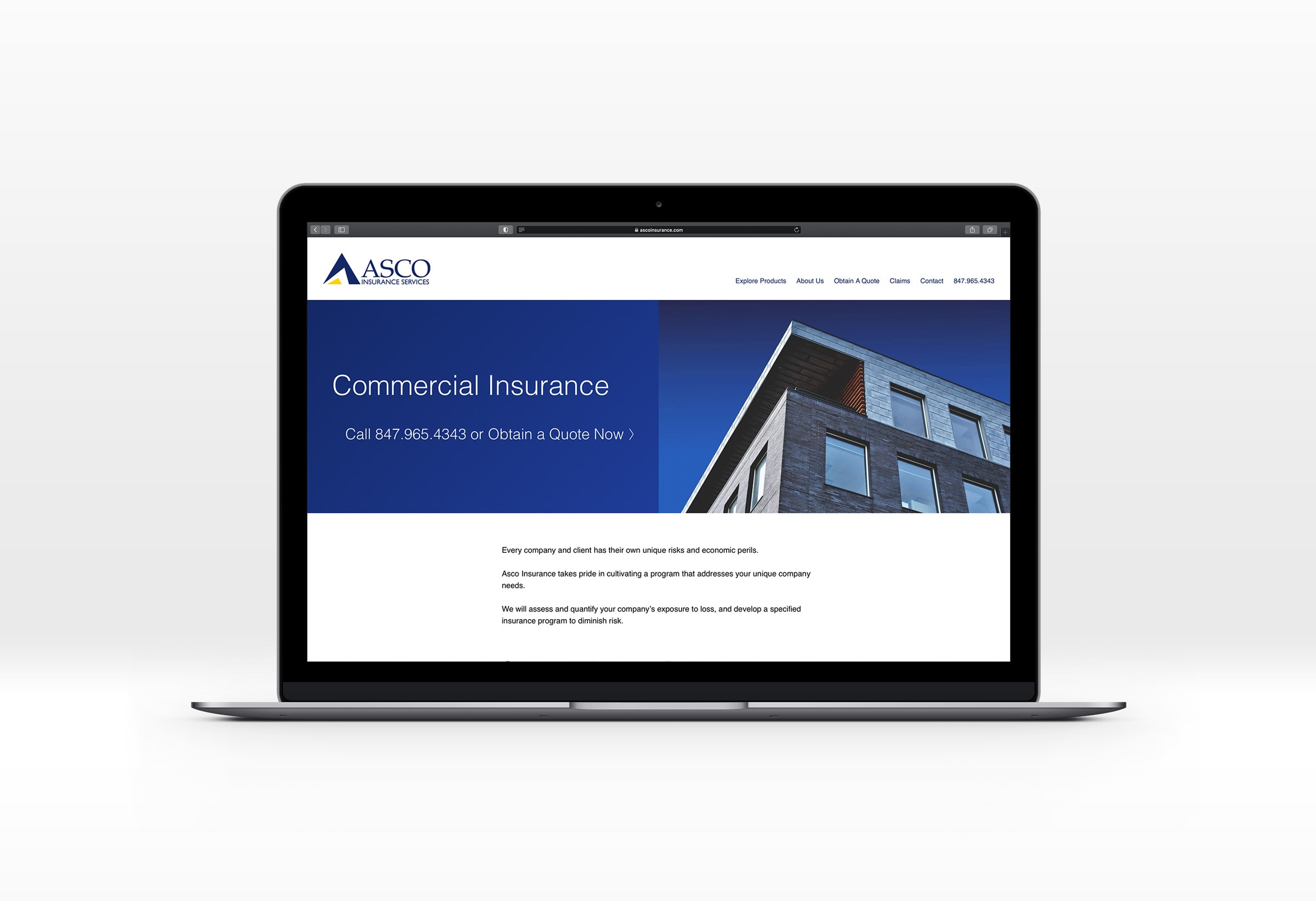insurance agency web site